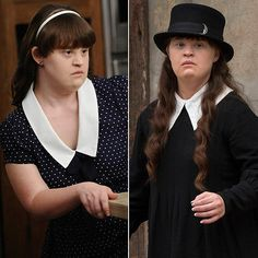 Jamie Brewer - S1: Adelaide  Langdon (troubled daughter) ~ S3: Nan (clairvoyant witch)