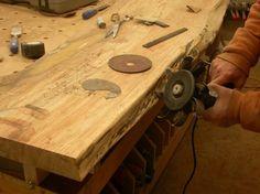 Preparing The Slabs · Live Edge TableSeattle ...