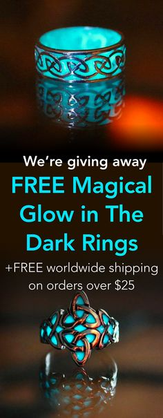 FREE Glow In The Dark Ring