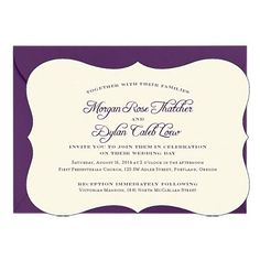 Wedding Invitations - Embossed Wedding Invitations | Paper Source