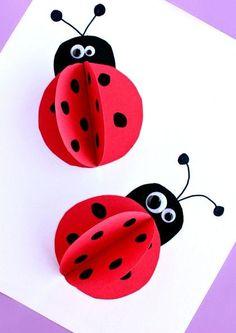 3 boyutlu uğur böceği :)