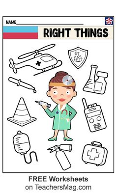 Community Helpers Crafts, Community Helpers Worksheets, Shape Worksheets For Preschool, Preschool Lessons, Toddler Learning Activities, Preschool Activities, Space Activities, Kindergarten Goals, April Preschool