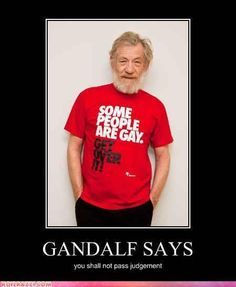 Not just Gandalf also Iorek Byrnison and Magneto!