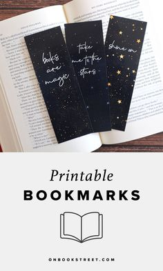 Printable bookmarks with quotes for book lovers. These reading bookmarks make perfect book reader gifts. Bookmarks Quotes, Bookmarks For Books, Creative Bookmarks, Diy Bookmarks, Cross Stitch Bookmarks, Printable Bookmarks, Reading Bookmarks, Corner Bookmarks, Bookmark Craft