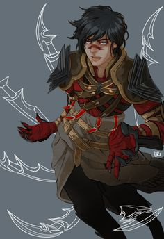 Hawke dragon age 2