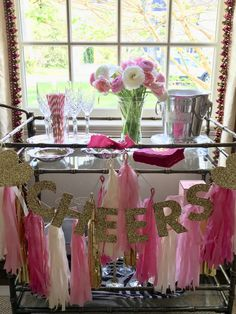 """Discover even more relevant information on """"bar cart decor ideas"""". Have a look at our web site. Bar Cart Styling, Bar Cart Decor, Kips Bay Showhouse, Gold Bar Cart, The Home Edit, Bastille Day, Modern Contemporary Homes, Happy Memorial Day, Pink Tulips"""