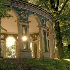 Hagaparken (Haga Park), Stockholm, Sweden. Photo: RobbanG.
