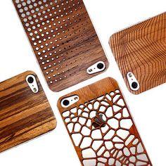 carcasas de madera