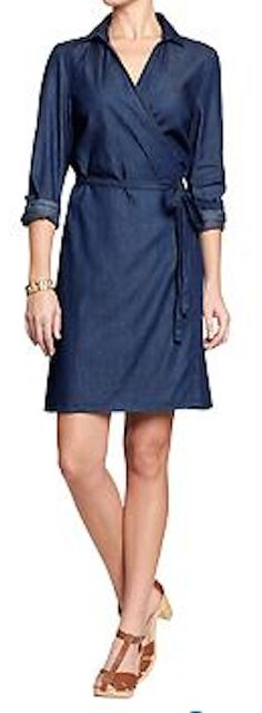 pretty chambray dress http://rstyle.me/~2sGMo