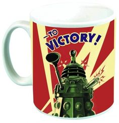 Dalek to victory -  taza ceramica -  doctor who #DoctorWho #DrWho 9,95€