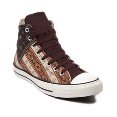 Shop for Converse All Star Hi Americana Sneaker, Americana Blanket, at Journeys Shoes. The original Old School athletic shoe is still cool. Some things dont change because they dont need to. Americana blanket edition USA flag print canvas upper, brown lace closure, and durable rubber sole. Available only online at Journeys.com! Available for shipment in August; pre-order yours today!Please note that this shoe runs a half size large.
