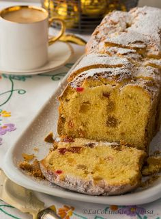 Frabisa cuisine: Christmas Cake Recipe and fountain pens. Fruit Recipes, Sweet Recipes, Dessert Recipes, Great Desserts, Delicious Desserts, Yummy Food, Plum Cake, Pan Dulce, Pound Cake Recipes