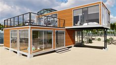 China High Quality Prefab Modular Movable Modify Shipping Container House, Find details about China Container House, Modular House from High Quality Prefab Modular Movable Modify Shipping Container House - Jiangxi HK Prefab Building Co. Wood House Design, Prefab Buildings, Shipping Container Home Designs, Shipping Container Buildings, Container Shop, Building A Container Home, Container Architecture, Prefab Homes, House In The Woods