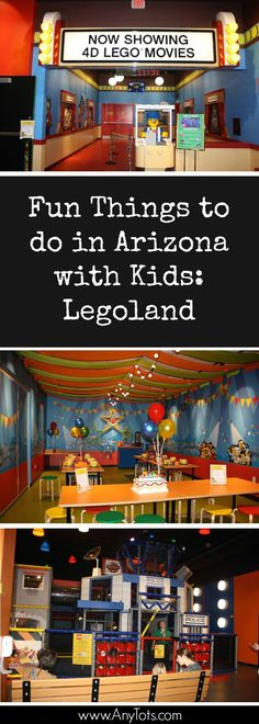Fun Things to do in Arizona with Kids. Visit Legoland Discovery Center when visiting Arizona. It's a quick drive from Downtown Phoenix. More photos on the website.