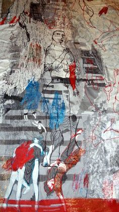 Alice kettle's 'Loss, Homage to Guernica http://alicekettle.co.uk/wp-content/uploads/2013/06/1-DSC01027.jpg