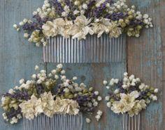 Lavendel Twist Schleierkraut Knopfloch von EnglishFlowerFarmer