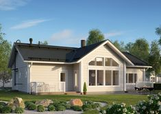 Siimes 144 moderni muuttovalmis hirsitalo | Finnlamelli House Plans, Shed, Outdoor Structures, Dreams, Home, Houses, Ad Home, Homes, House Floor Plans