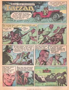 Artist: John Celardo Hunting Party, Tarzan, Vintage Comics, Comic Art, Scary, The Past, Gallery, Artist, Roof Rack
