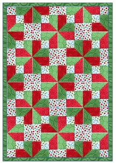 Accidental quilt block tutorial - starting with a 9-patch