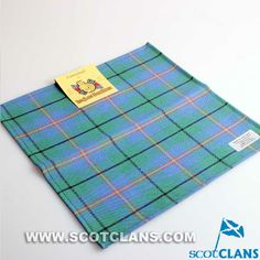 Clan Carmichael Wool Tartan Handkerchief