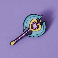 Enchanted Axe ♥ Enamel Pin