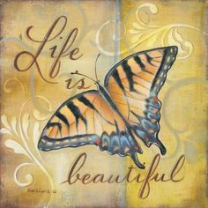 Beautiful Print by Kim Lewis at Art.com Butterfly Artwork, Butterfly Quotes, Motivational Wall Art, Beautiful Posters, Cool Posters, Poster Prints, Art Prints, Beautiful Butterflies, Find Art