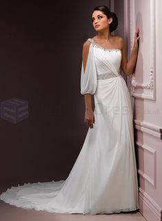 one strap wedding dresses - how to dress for a wedding