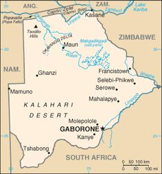 Botswana Country Information Union Of South Africa, Country Information, Democratic Election, Modern World History, Geography For Kids, Country Maps, Her Majesty The Queen, African Countries, New Names