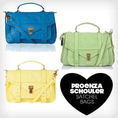 Proenza Schouler Satcher Bags #bags #fashion