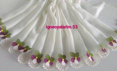 This post was discovered by HU Crochet Edging Patterns, Tatting, Needlework, Diy And Crafts, Embroidery, Sewing, Blog, Handmade, Kebaya