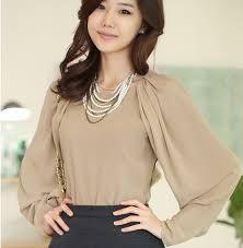 Image result for blusas elegantes para dama
