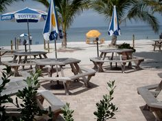 Mucky Duck is the only spot on the beach and a perfect place to watch the sunset - Captiva Island, Florida