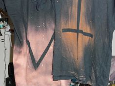 diy bleach design, zombie shirt