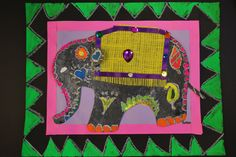 PAINTED PAPER: Festive Elephants of India