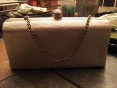 Silver Vintage Purse/Clutch by coriesutton on Etsy, $25.00