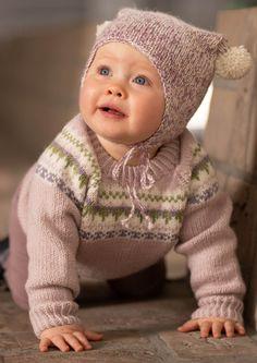 Sjekk DE tøffe fargene til Oskargenser - Knitting Inna Tweed, Winter Hats, Crochet Hats, Knitting, Children, Fashion, Velvet, Boys, Moda