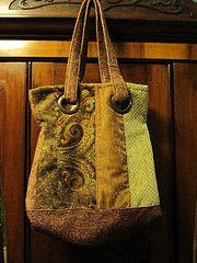 Carpet bag. Good for all those upholstry scraps