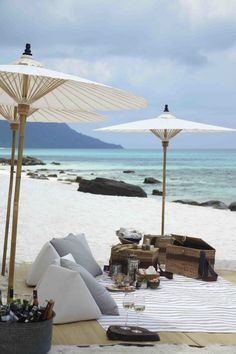 Private beach picnic #SongSaa #Cambodia #IslandDestinations