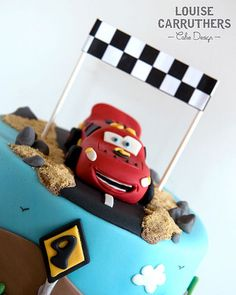 Birthday Cake - Lightening McQueen << www.louisecarruthers.co.uk
