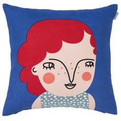 Lily face Cushion Cover 46cm