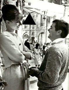Audrey Hepburn & Tony Curtis