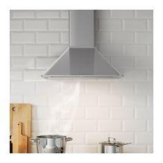 IKEA - MATTRADITION, Seinään kiinnitettävä liesituuletin, 5 vuoden takuu. Lisätietoja ja takuuehdot takuuvihkosessa.Sisältää led-valot, jotka yleensä kestävät yhtä kauan kuin liesituuletinkin.Voidaan liittää joko hormiin tai aktiivihiilisuodattimella varustettuna kiertoilmakäyttöön.Rasvasuodatin on helppo irrottaa, ja sen voi pestä koneessa. Mukana 1 suodatin.