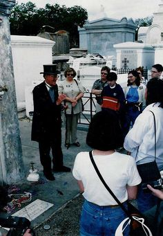 Cemetery Tour: this is a safe way to explore the cemetery with a group & hear history & some about Voodoo Queen Marie Laveaux.