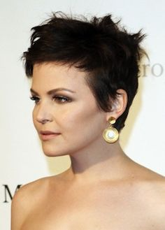 The Nearsighted Owl: DIY Pixie Haircut Ginnifer Goodwin Inspiration 2