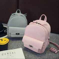c38455ef4182 New Designer Women Backpack For Teens Girls Preppy Style Solid fashion Girls  School Bags for Girls PU Leather Women Backpack Fashion leather articles at  60 ...