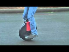 """The Solowheel is the smallest, greenest, most convenient """"People Mover"""" ever invented. This gyro-stabilized electric unicycle is compact and fun to ride and is intended to be used as you would use an electric bicycle."""