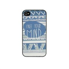 Free Your Mind iPhone Cover – Black from Vasare Nar - R149