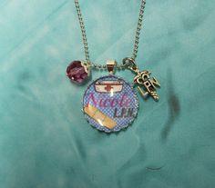 RN or LPN Personalized Jewelry - Bottle Cap Jewelry - Nursing Jewelry