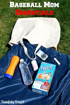 Baseball Mom Essentials: First time baseball mom? Make sure to have these essentials with you at every game. #GetKreative #ad