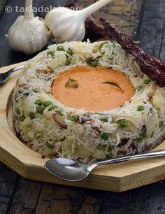 Vegetables Pulao with Coconut Curry recipe | Vegetarian Pulao | by Tarla Dalal | Tarladalal.com | #2219